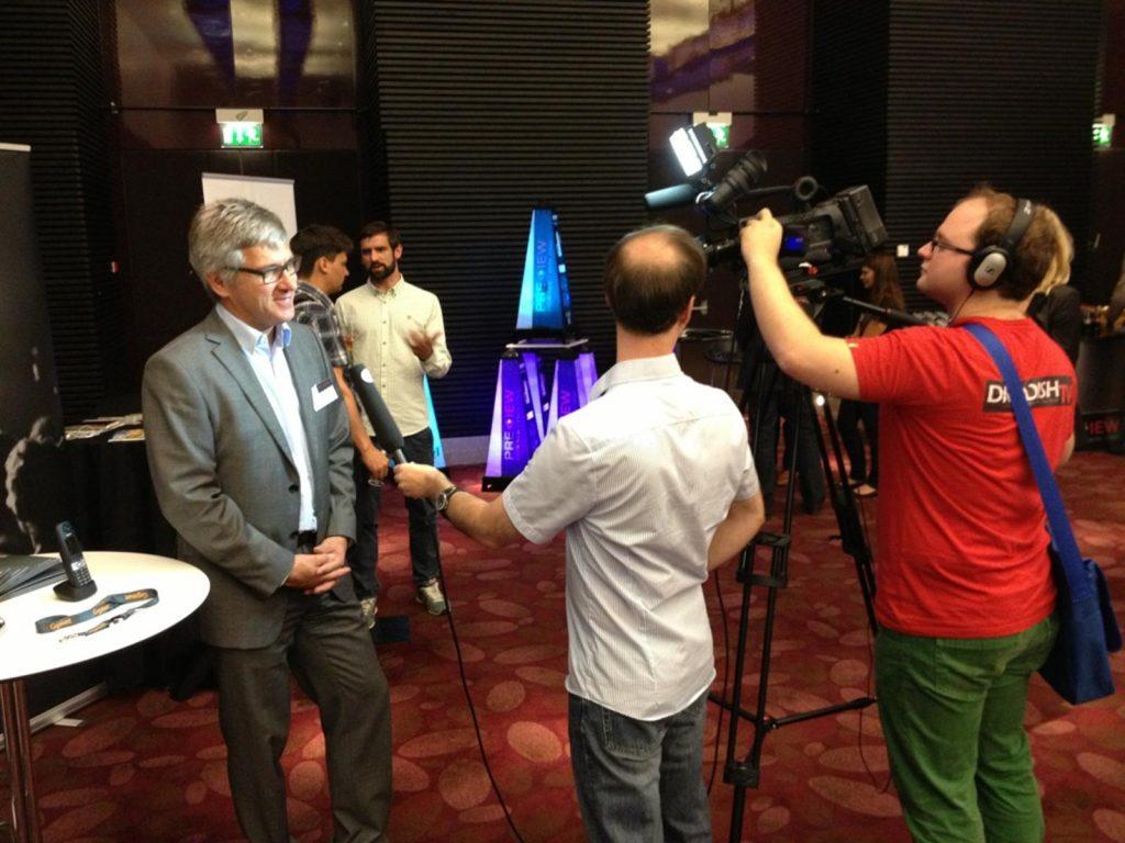 Ulrich Schmalhofer im Interview mit Dr. DISH TV