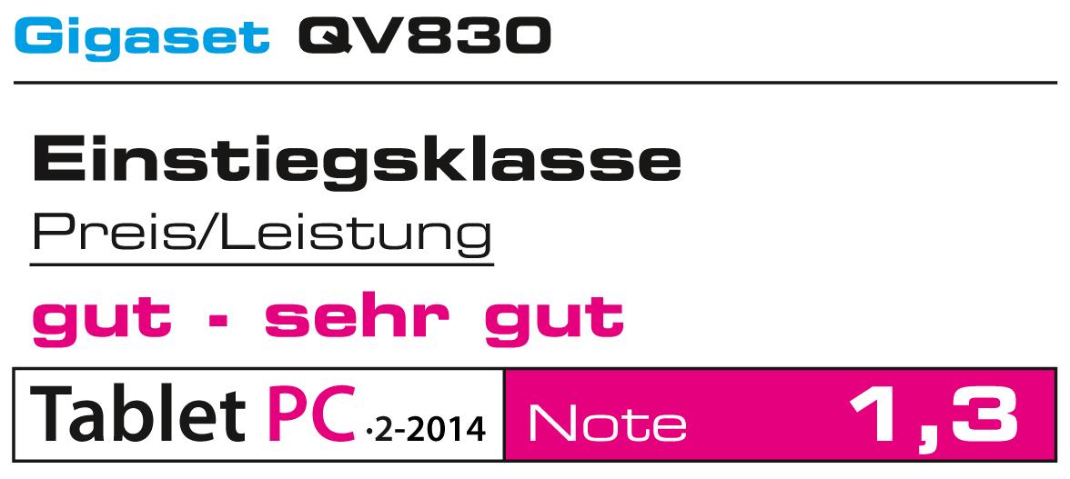 GIGASET QV1030 TECHNISCHE DATEN