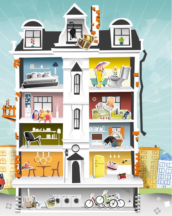 Das neue Gigaset elements Haus - Wohnort von Oscar und Handlungsort der Kampagne