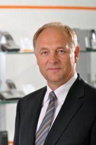 Klaus Weßing, der neue CEO der Gigaset AG