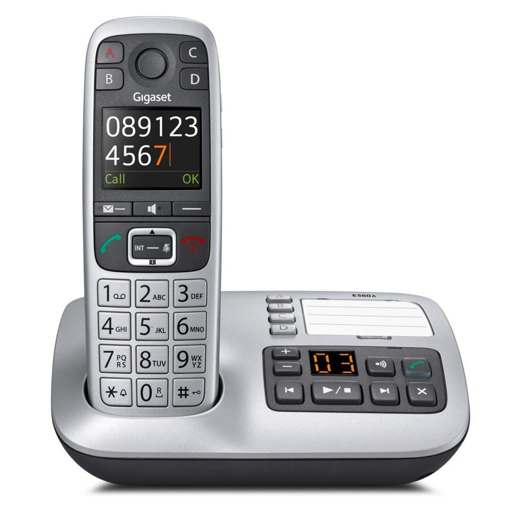 Die neue Gigaset E560A Basisstation mit Anrufbeantworter