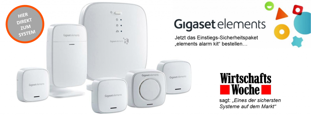Gigaset elements alarm kit