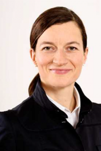 Kerstin Diebenbusch, Investor Relations Managerin der Gigaset AG