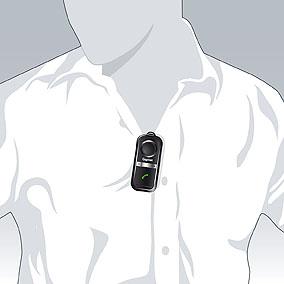 Einfach Anclippen und telefonieren