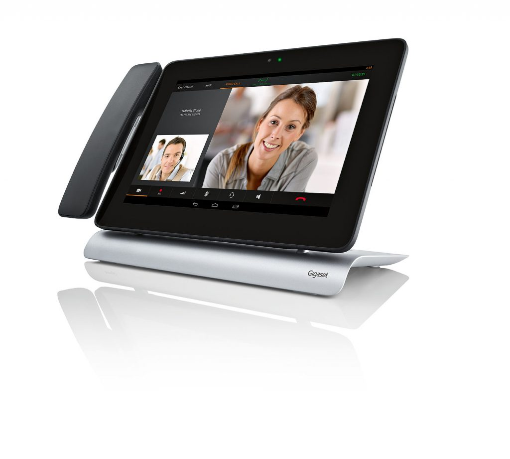 """Gigaset Maxwell - 10.1"""" Full-Touch-Display inklusive HD Videotelefonie"""