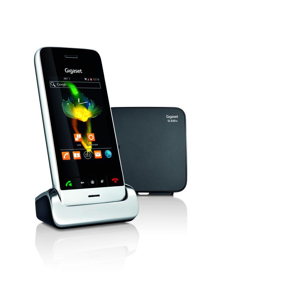 Das Gigaset SL930A - Die Verbindung aus Smartphone und Festnetz