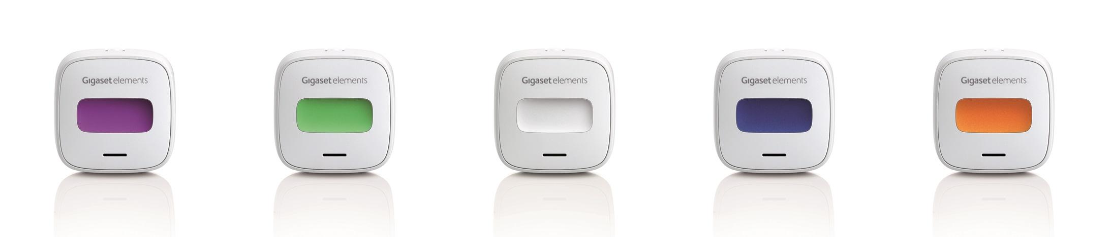 elements button bietet verschiedene Farben