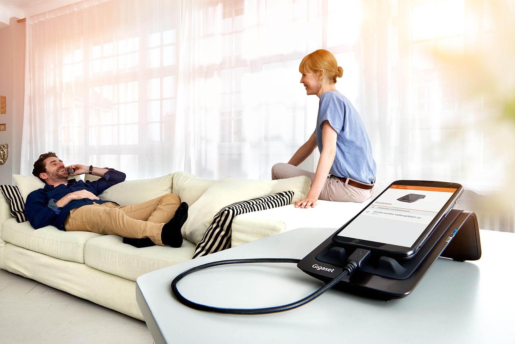 Komfortabel und clever - die Gigaset MobileDock