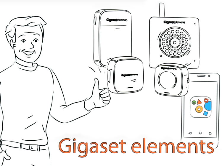 Gigaset Erklärvideo Smart Home
