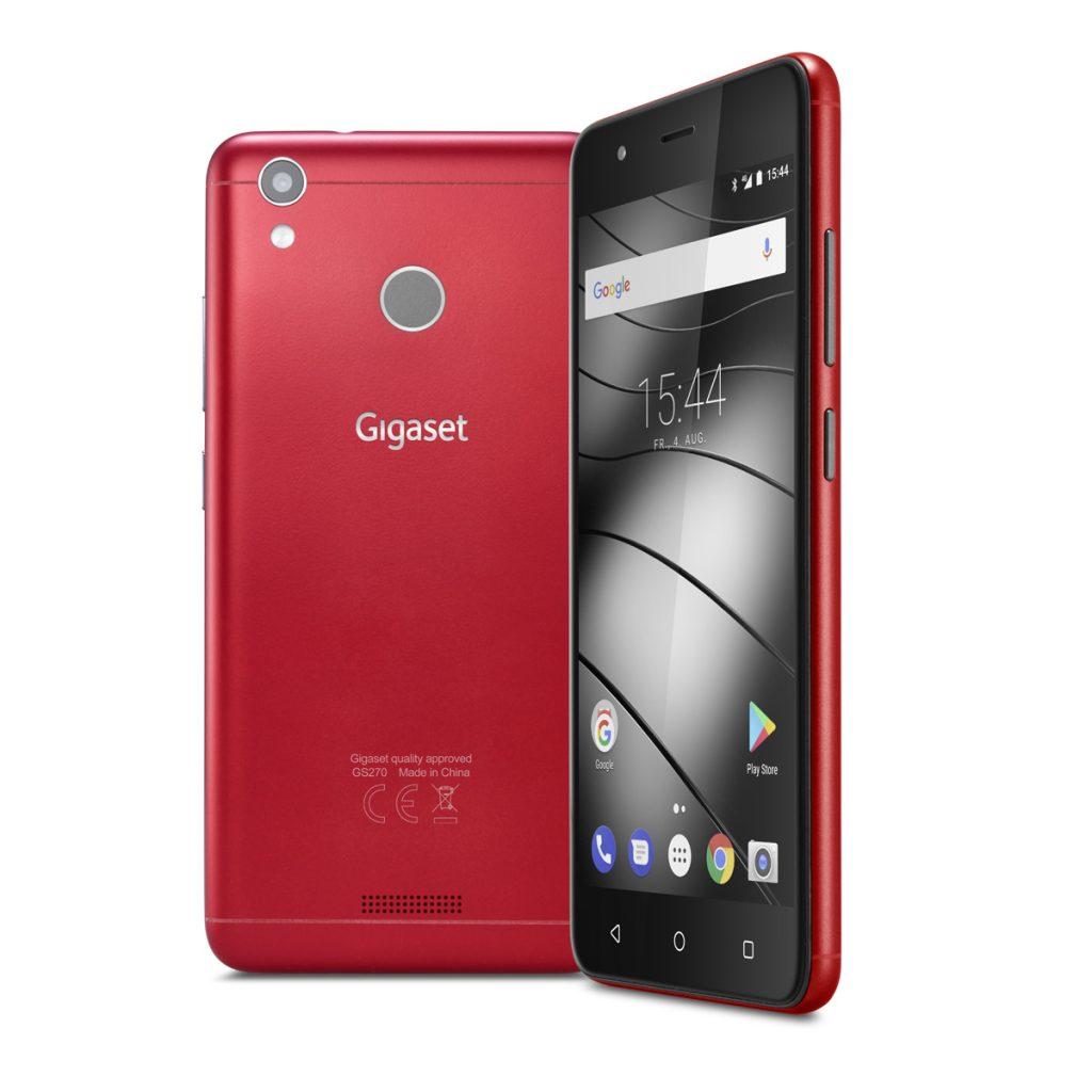 Gigaset GS270 Smartphone Racing Red