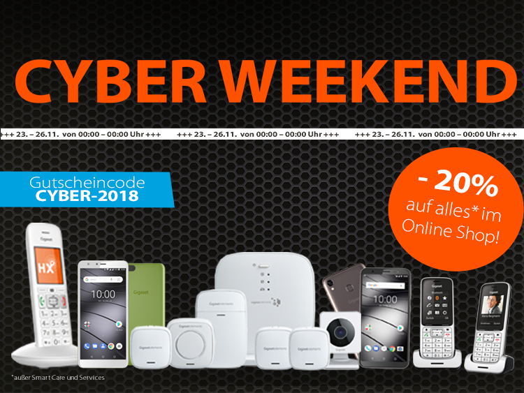 Gigaset Cyber Weekend