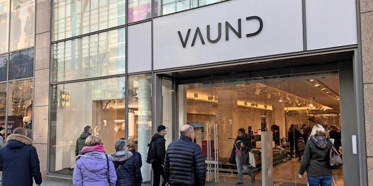 VAUND Store Außen